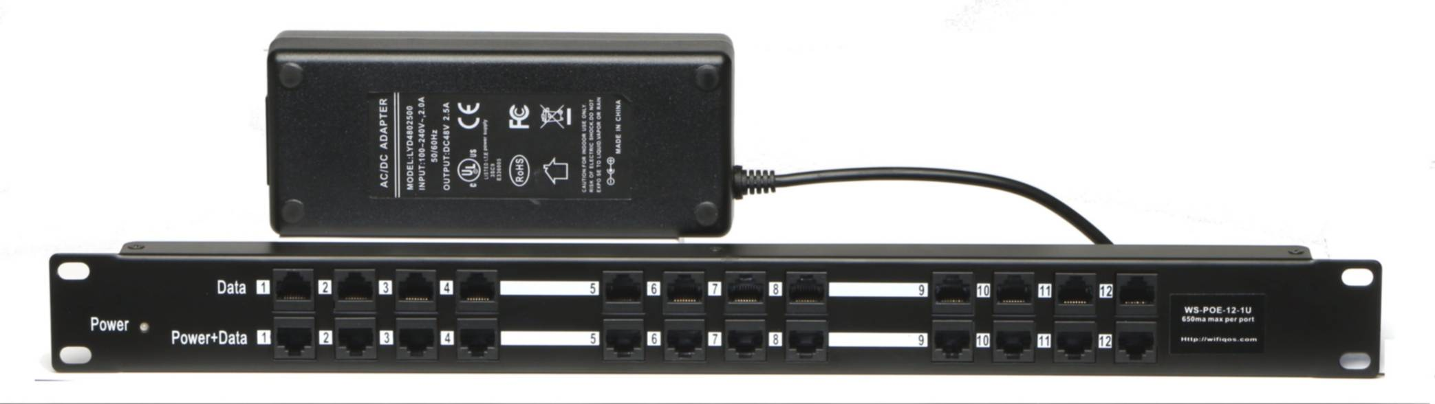 WS-POE-12 with Power Supply
